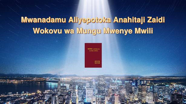 Mwanadamu Aliyepotoka Anahitaji Wokovu wa Mungu Mwenye Mwili Zaidi ya Wote